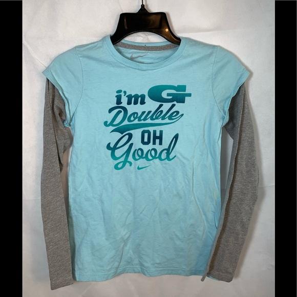 Nike Other - EUC NIKE Youth Girls Xlarge long sleeve shirt